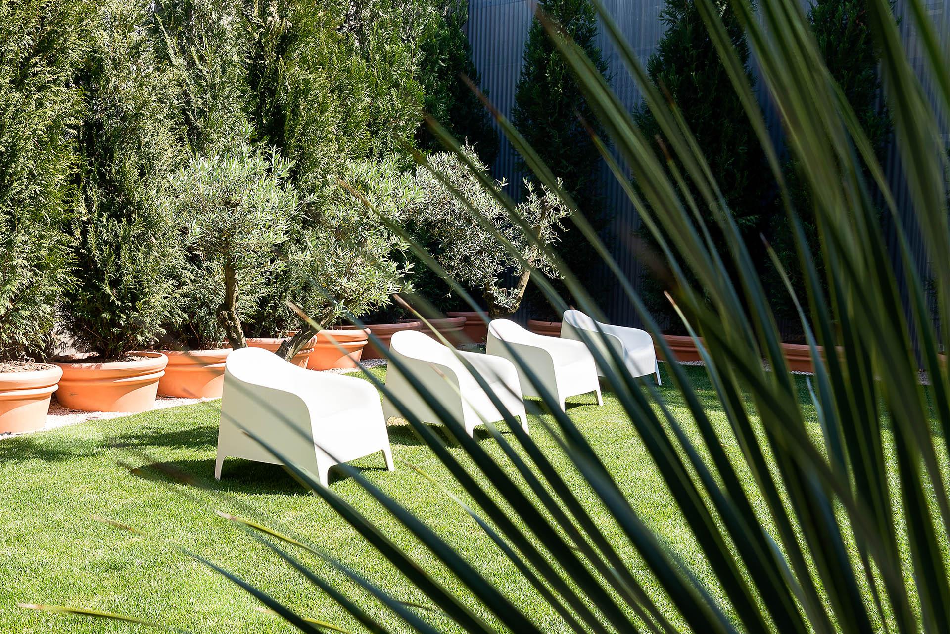 Charm Palace Porto garden